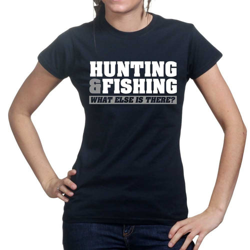 Hunting and Fishing Ladies T-shirt