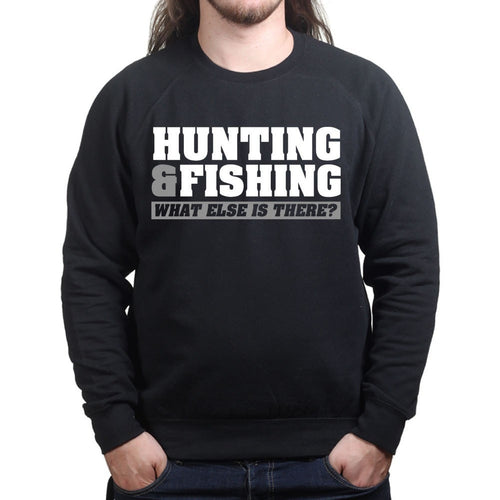 Hunting and Fishing Mens Sweatshirt
