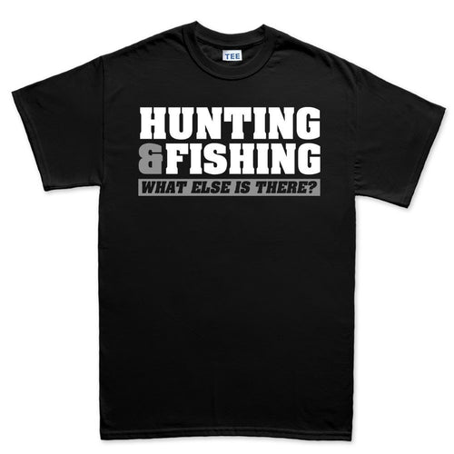 Hunting and Fishing Mens T-shirt
