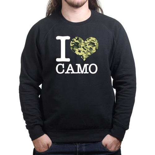 I Love Camo Sweatshirt