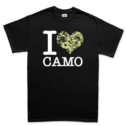 I Love Camo Men's T-shirt