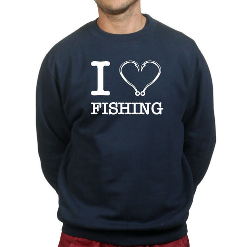 I Love Fishing Sweatshirt
