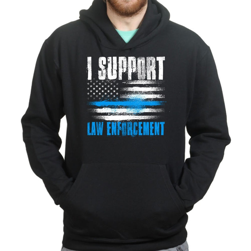 Support Law Enforcement Hoodie