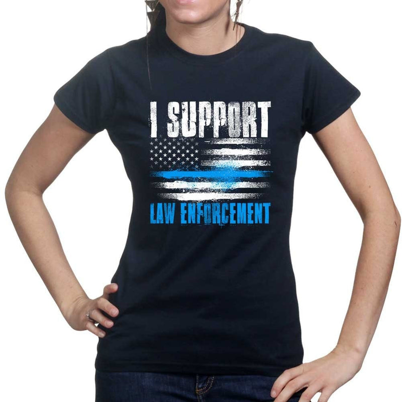 Ladies Support Law Enforcement T-shirt