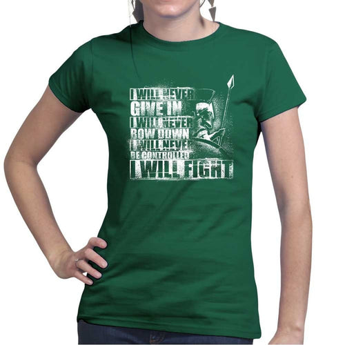 Ladies I Will Fight T-shirt