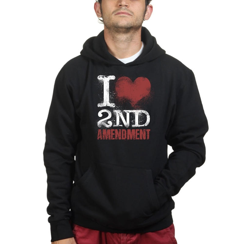 Unisex I Love The 2nd Amendment Hoodie