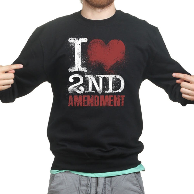 Unisex I Love The 2nd Amendment Sweatshirt