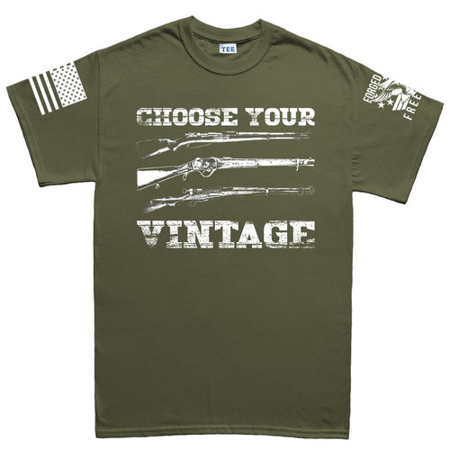 Choose Your Vintage Men's T-shirt