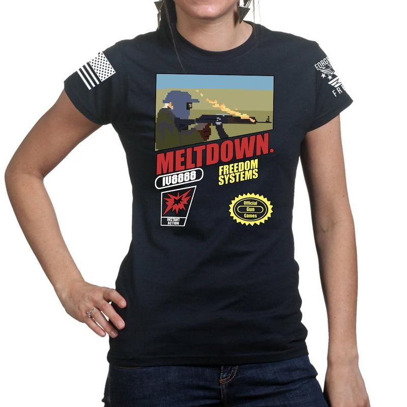 IV8888 Super Meltdown Bros. Ladies T-shirt