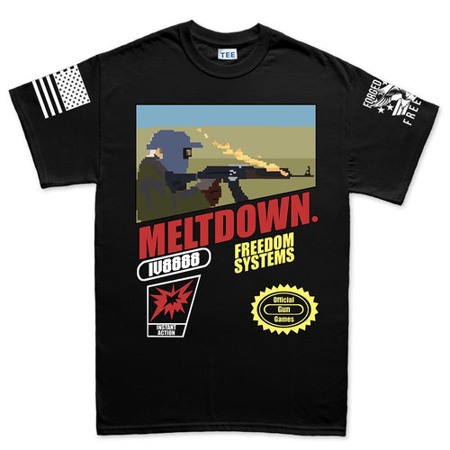 IV8888 Super Meltdown Bros. Men's T-shirt