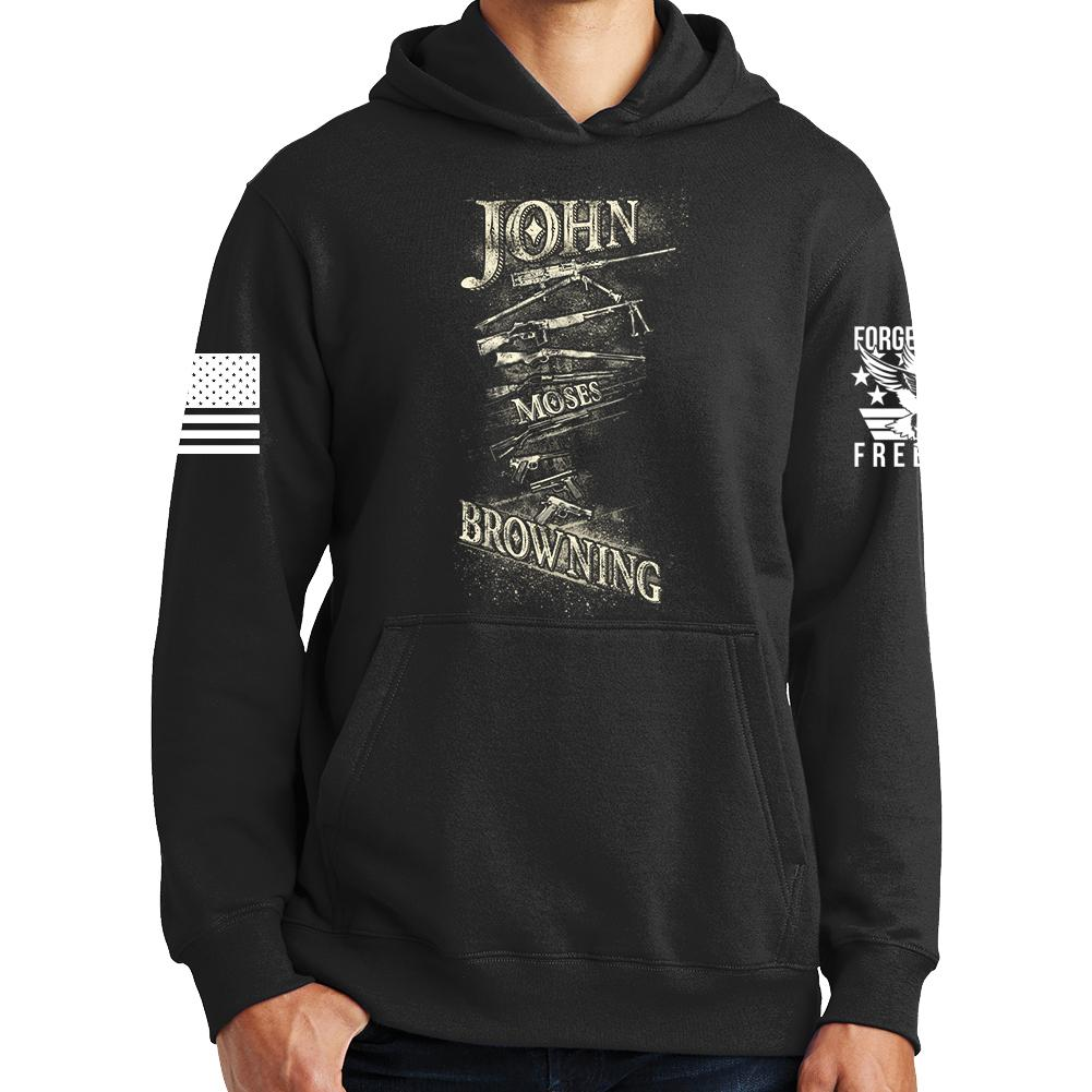 1678f7c14 John Moses Browning Hoodie – Forged From Freedom
