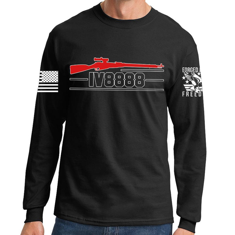 IV8888 Official Logo Long Sleeve T-shirt