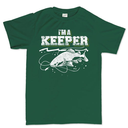 I'm A Keeper Fishing Men's T-shirt
