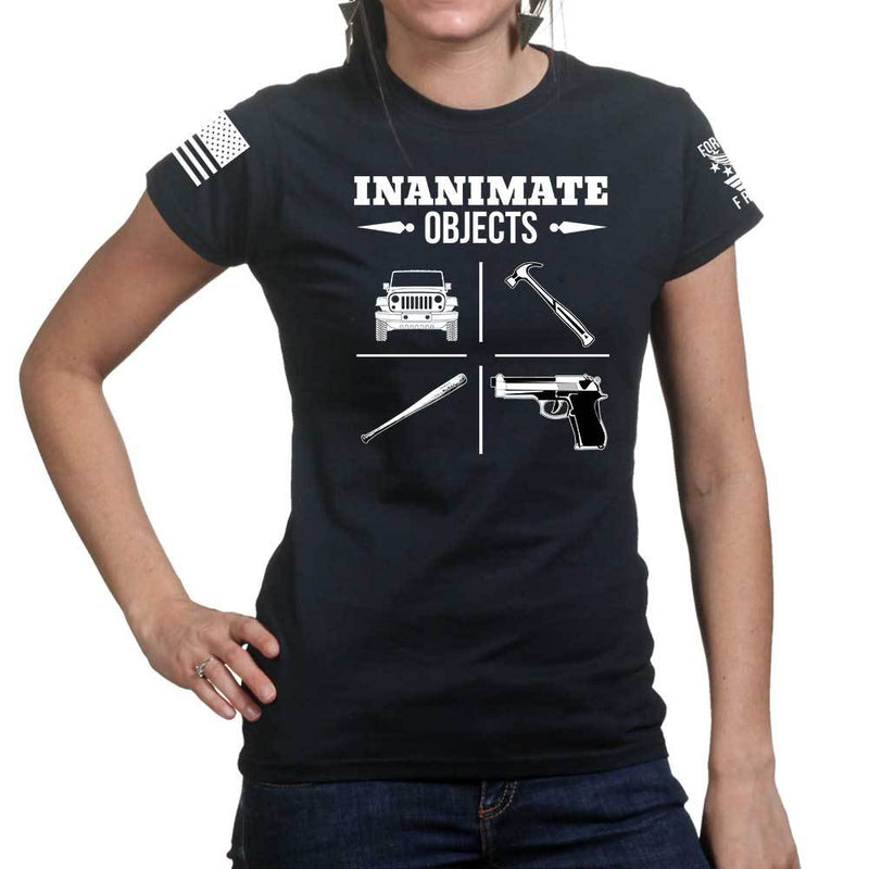 Inanimate Objects Ladies T-shirt