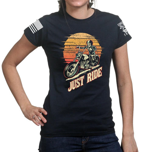 Just Ride Ladies T-shirt