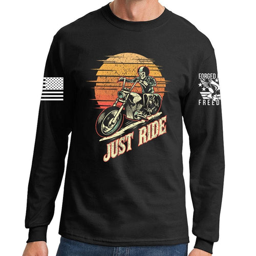 Just Ride Long Sleeve T-shirt