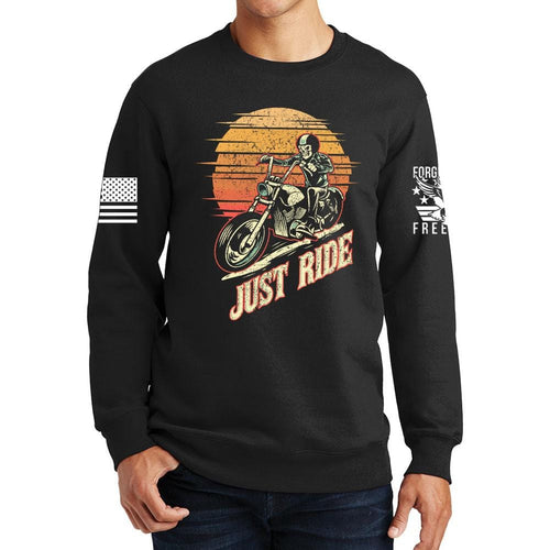 Just Ride Sweatshirt