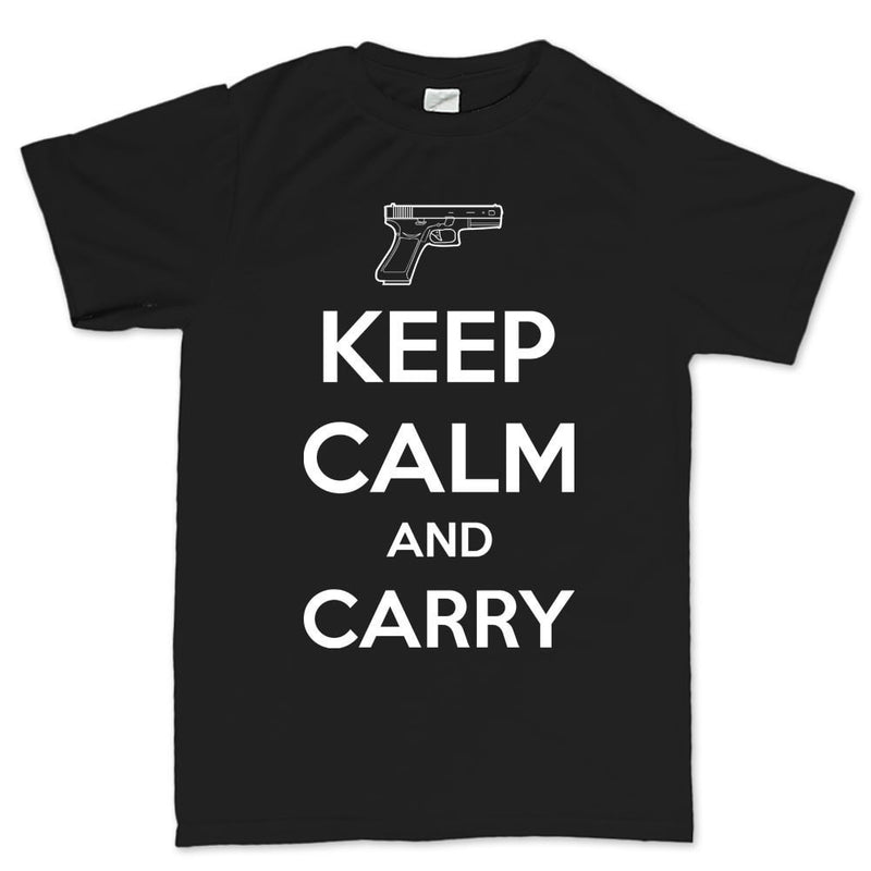 Keep Calm and Carry G19 Mens T-shirt