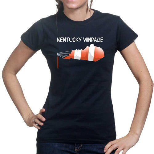 Kentucky Windage Ladies T-shirt
