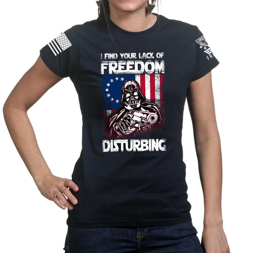 Freedom Vader Ladies T-shirt