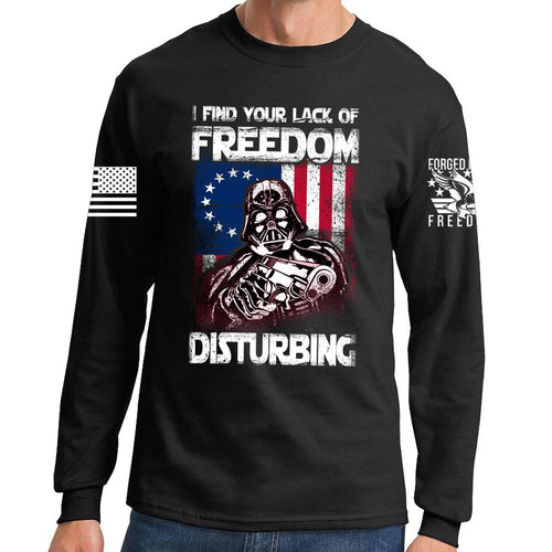 Freedom Vader Long Sleeve T-shirt