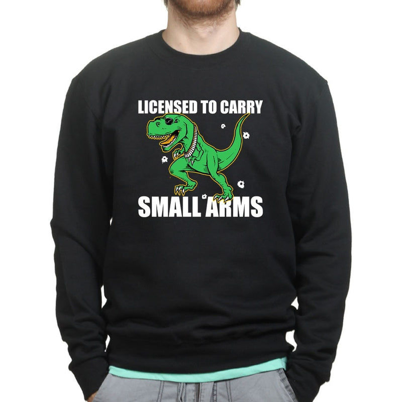 Licensed to Carry Small Arms Mens Sweatshirt