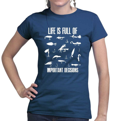 Lure Decisions Ladies T-shirt
