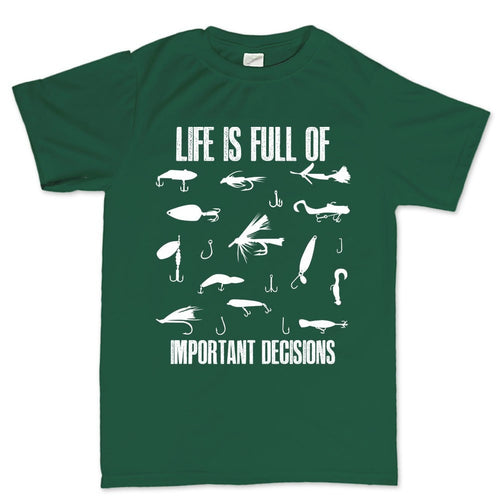 Lure Decisions Men's T-shirt