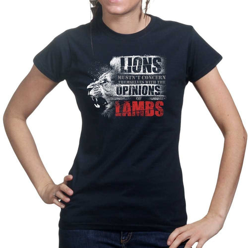 Ladies Lions Don't Lose Sleep T-shirt