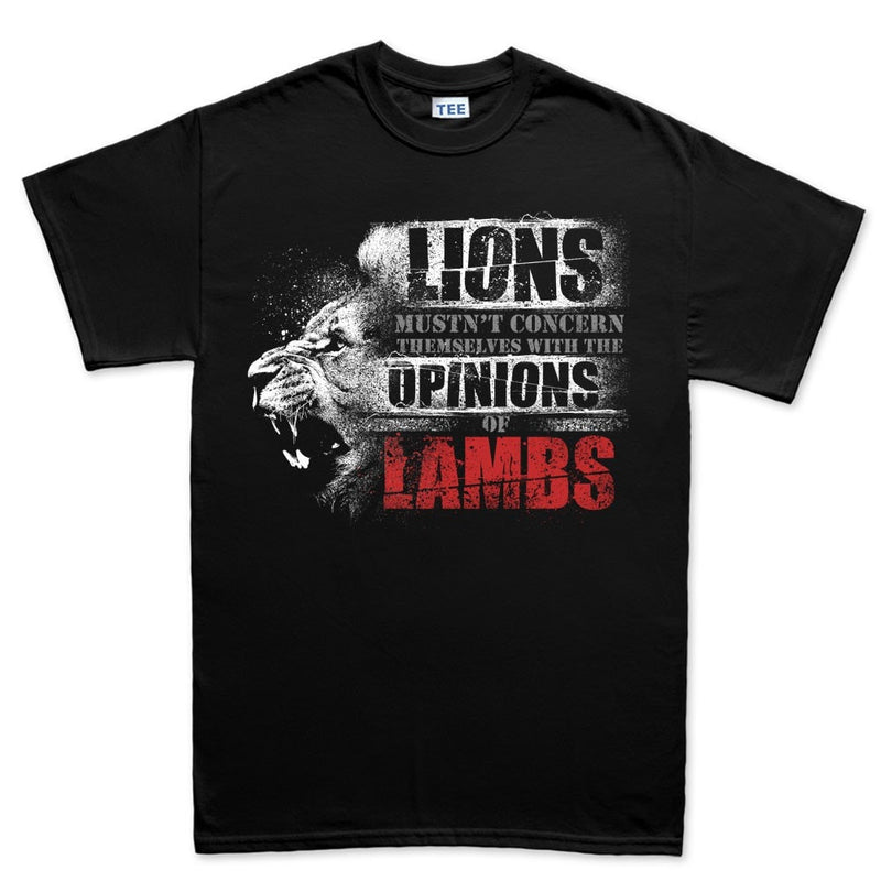 Men's Lions Don't Lose Sleep T-shirt