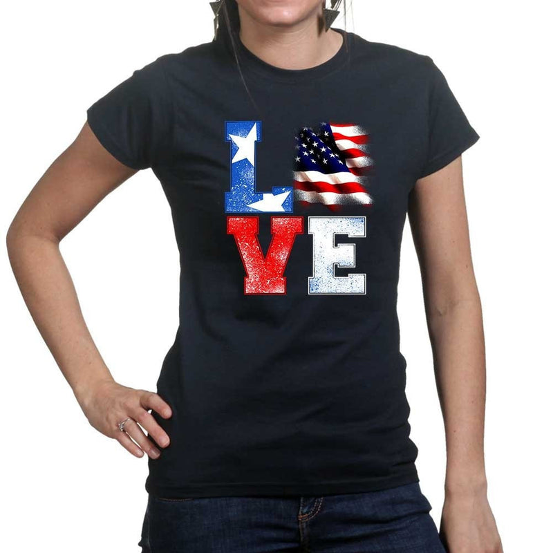 Ladies Love America T-shirt