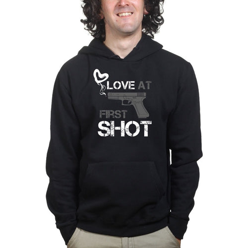 Love At First Shot Hoodie