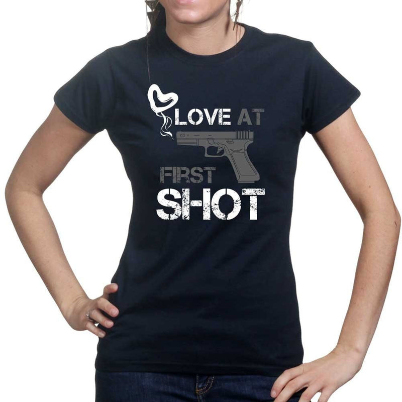 Love At First Shot Ladies T-shirt