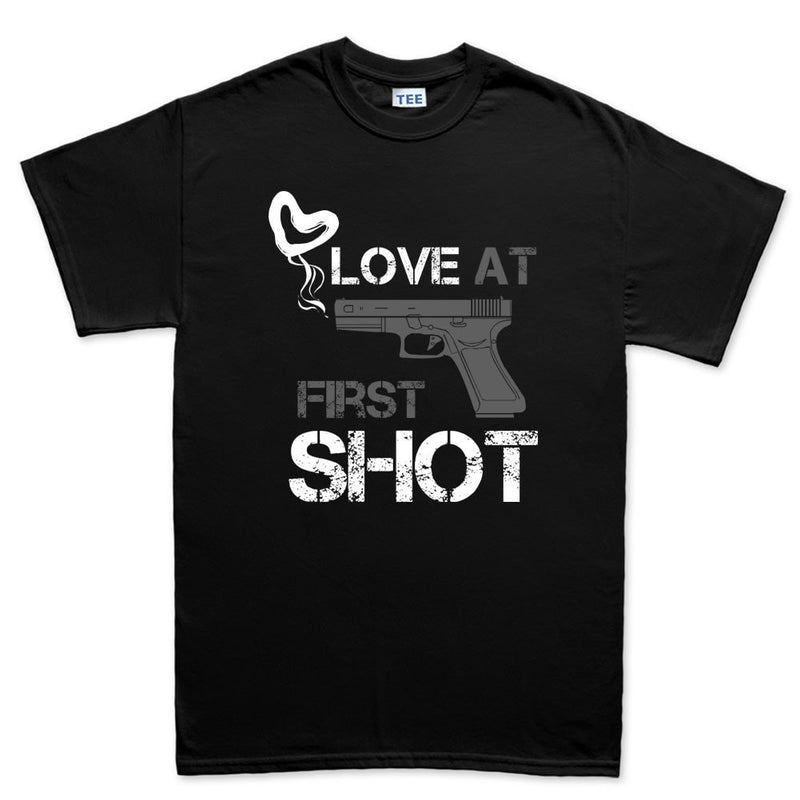 Love At First Shot Men's T-shirt