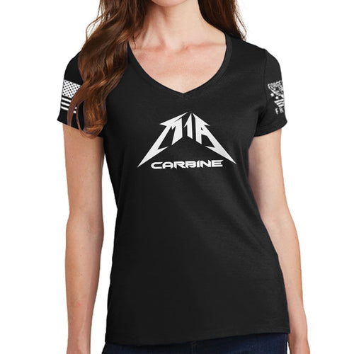 Ladies M1A Carbine V-Neck T-shirt