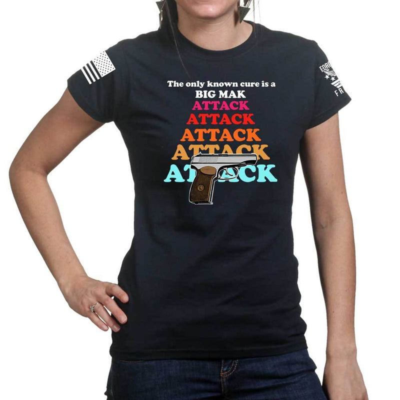 Big MAK Attack Ladies T-shirt