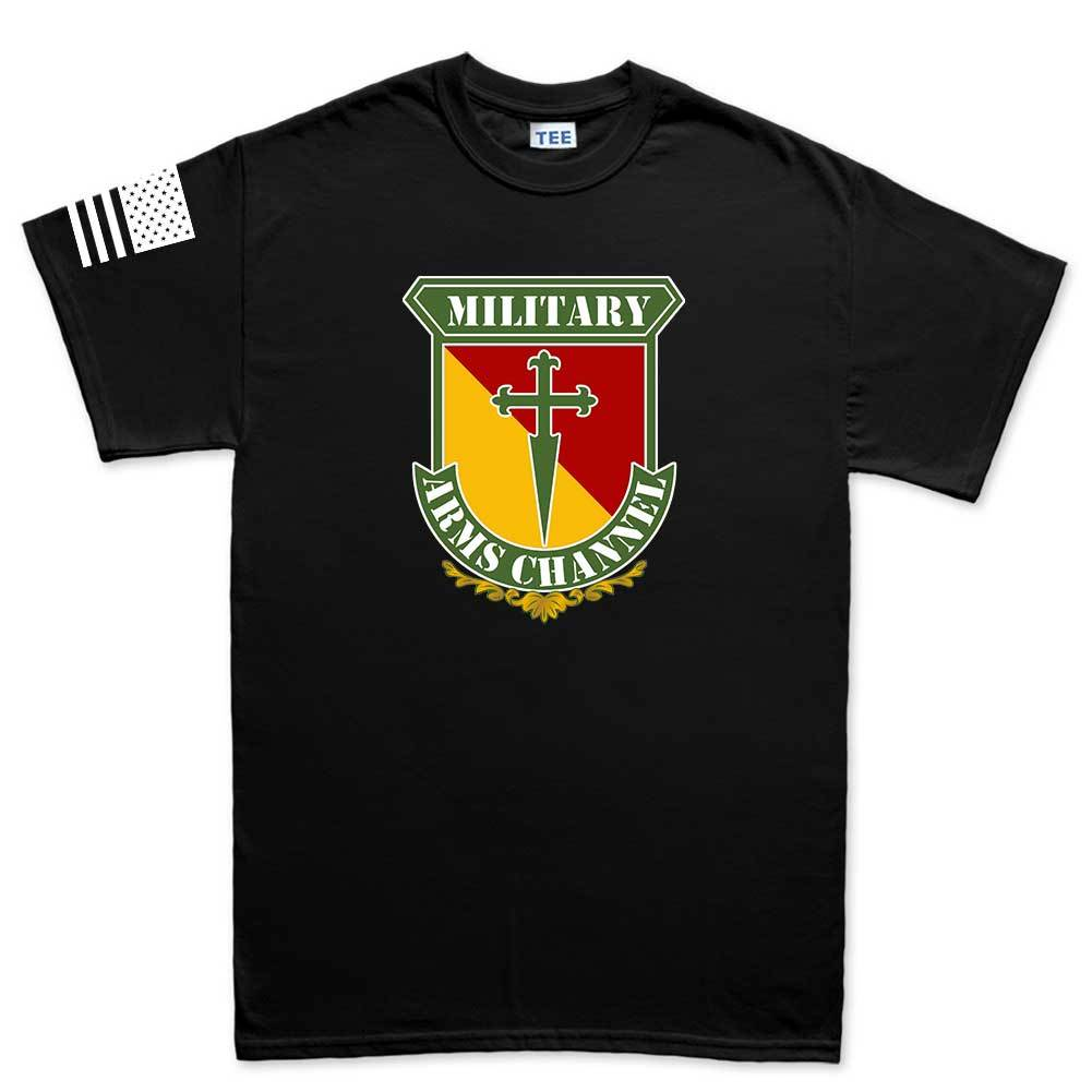 88d7073c Military Arms Channel Logo Mens T-shirt – Forged From Freedom