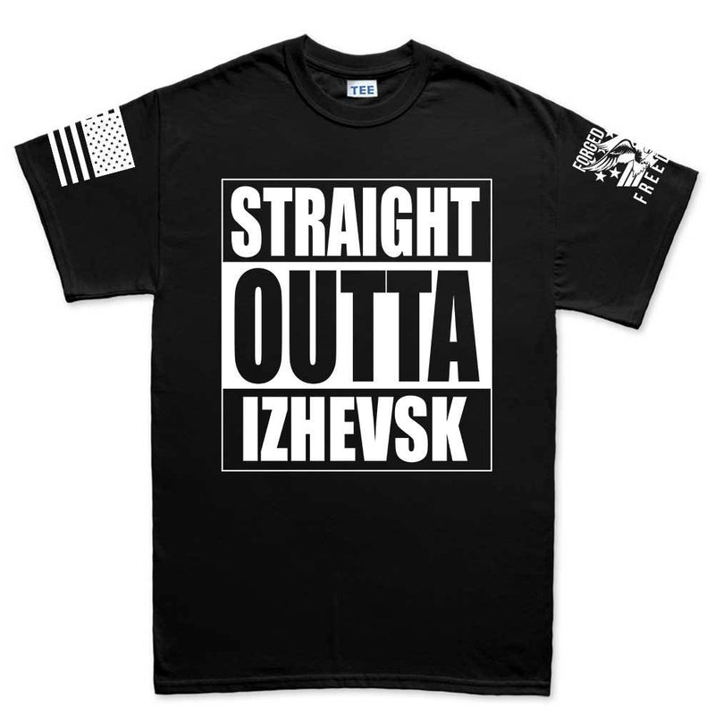 Straight Outta Izhevsk Mens T-shirt