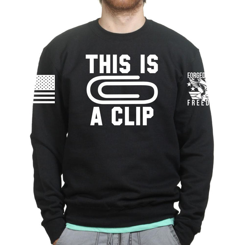 This Is A Clip Sweatshirt
