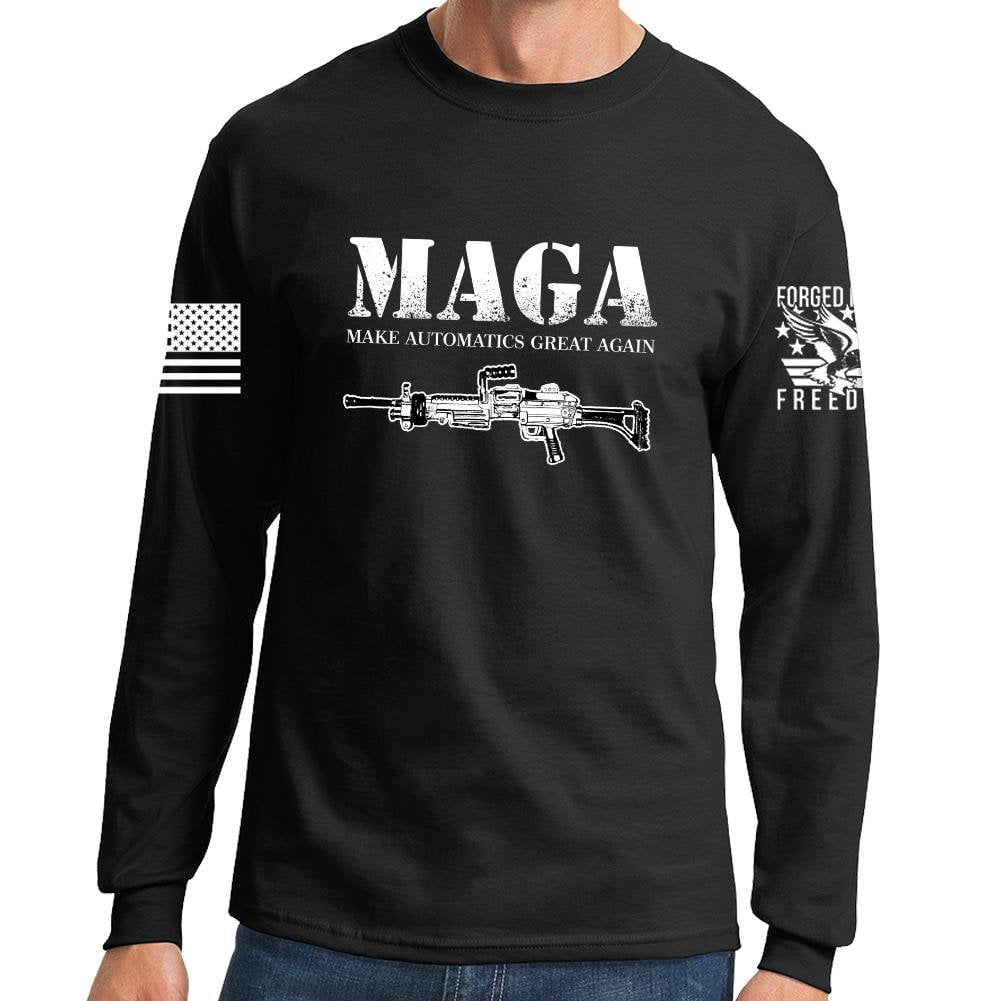 3152b23553121 MAGA Long Sleeve T-shirt – Forged From Freedom