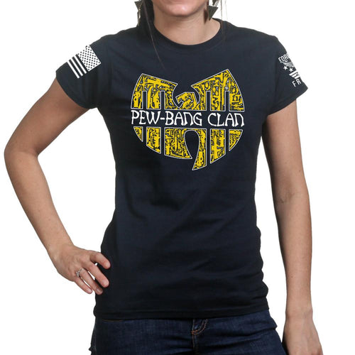 Pew Bang Clan Ladies T-shirt