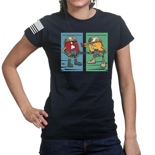 Ladies M vs S T-shirt