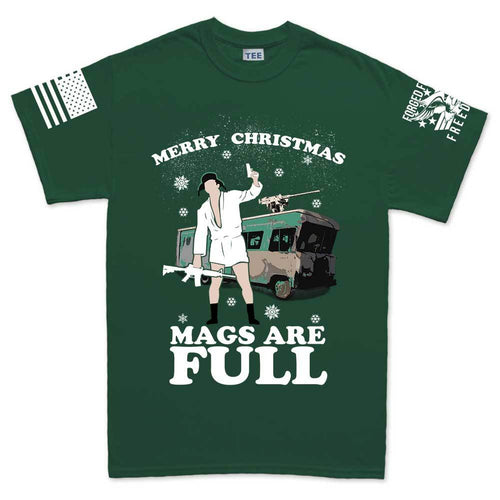 Merry Christmas Mags Are Full T-shirt