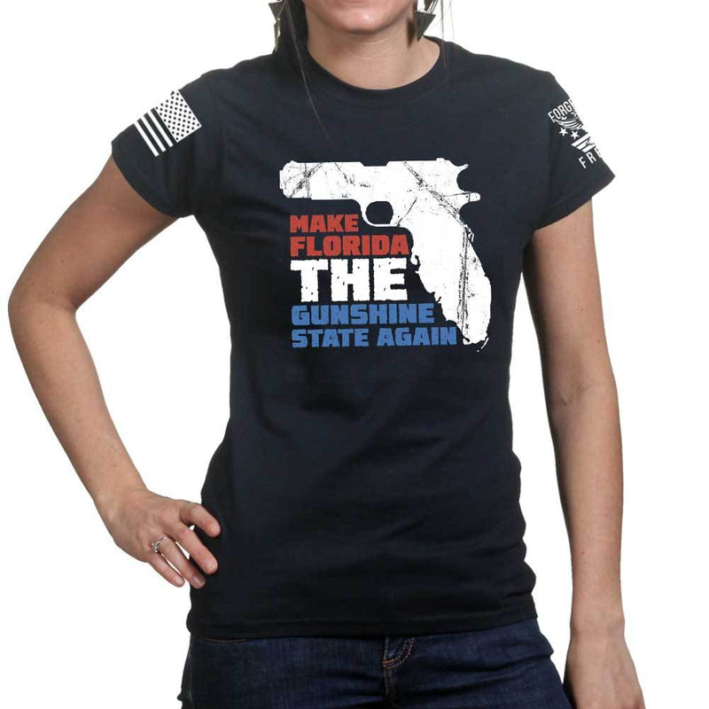 Make Florida The Gunshine State Ladies T-shirt