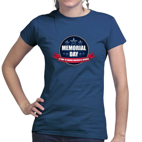 Memorial Day A Time to Honor Ladies T-shirt