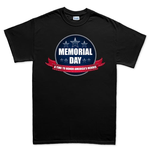 Memorial Day A Time to Honor Men's T-shirt