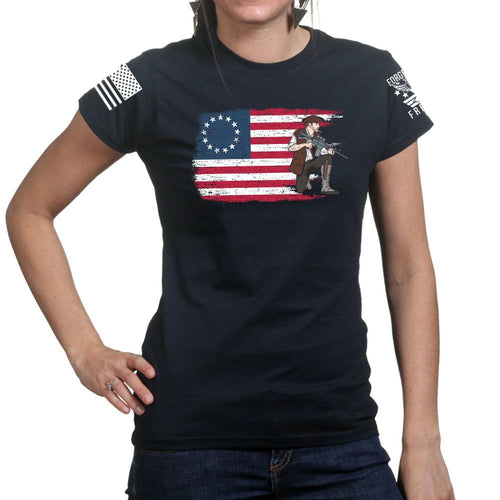 Modern Minuteman Ladies T-shirt