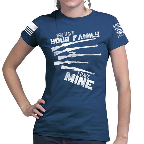 My Mosin Family Ladies T-shirt