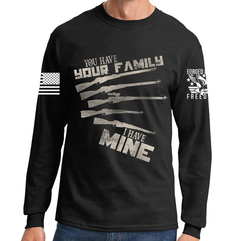 My Mosin Family Long Sleeve T-shirt
