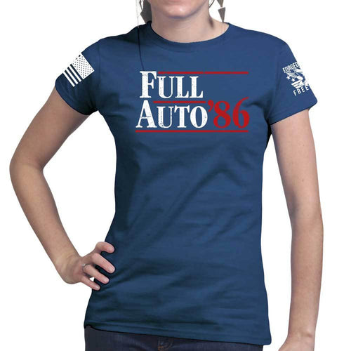 Full Auto 1986 Ladies T-shirt